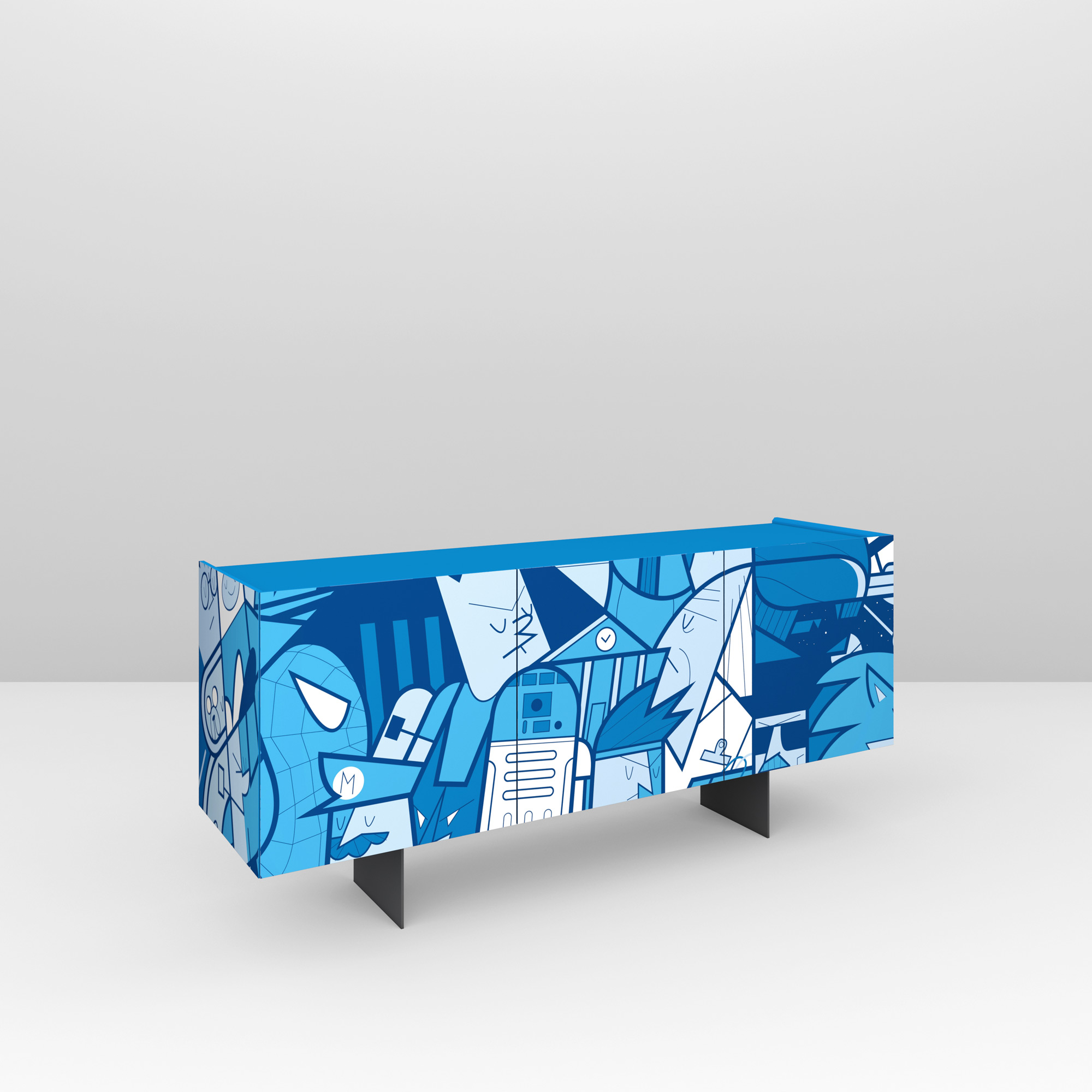 Pictoom Furniture Art Marogna Graphic Illustrator Furnishings Ale Giorgini