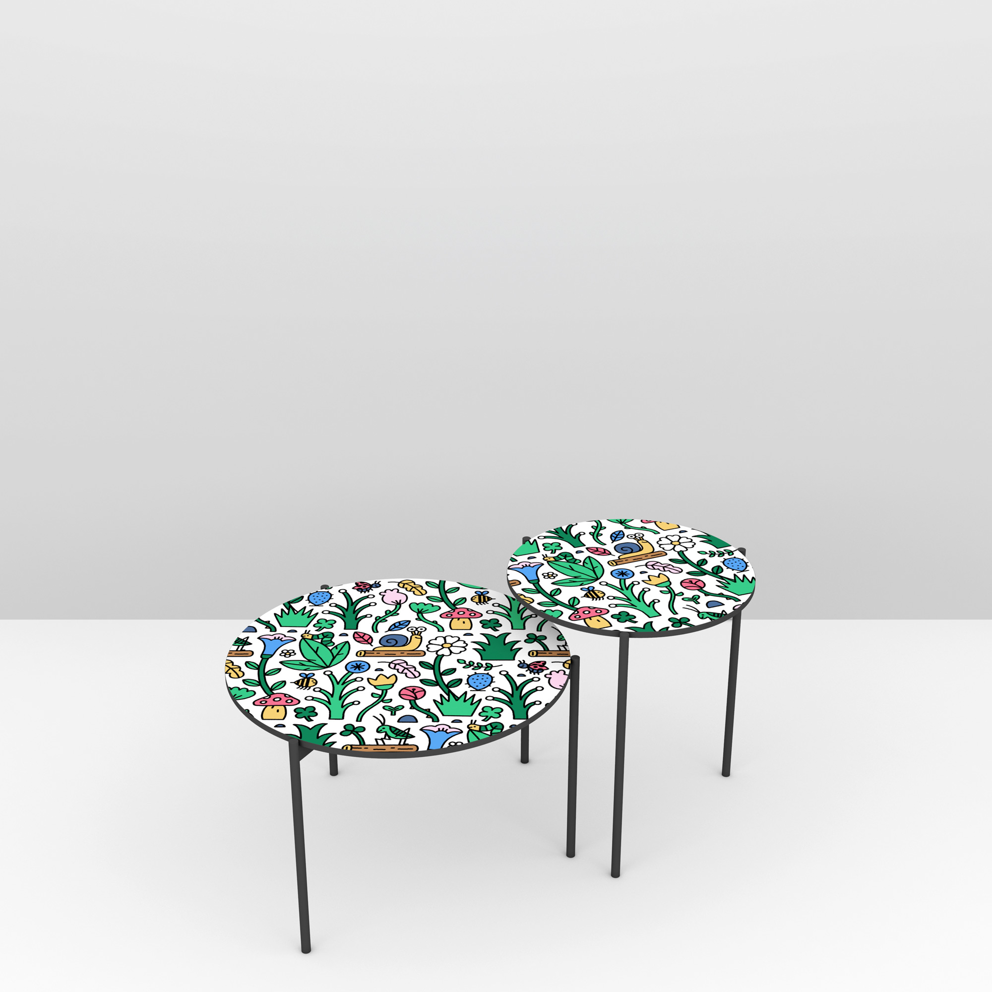 Pictoom Furniture Art Marogna Graphic Illustrator Furnishings Mauro Gatti