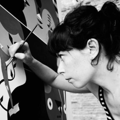 Pictoom Mobili Arte Marogna Arredamenti illustratori Camilla Falsini