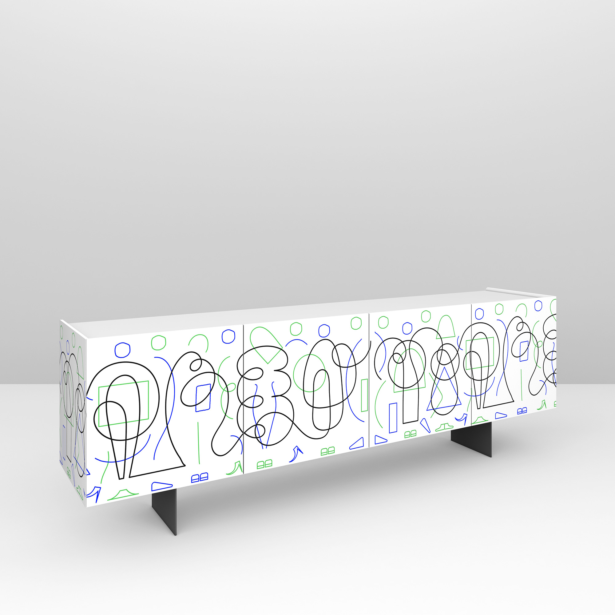 Pictoom Furniture Art Marogna Graphic Illustrator Furnishings Jonathan Calugi