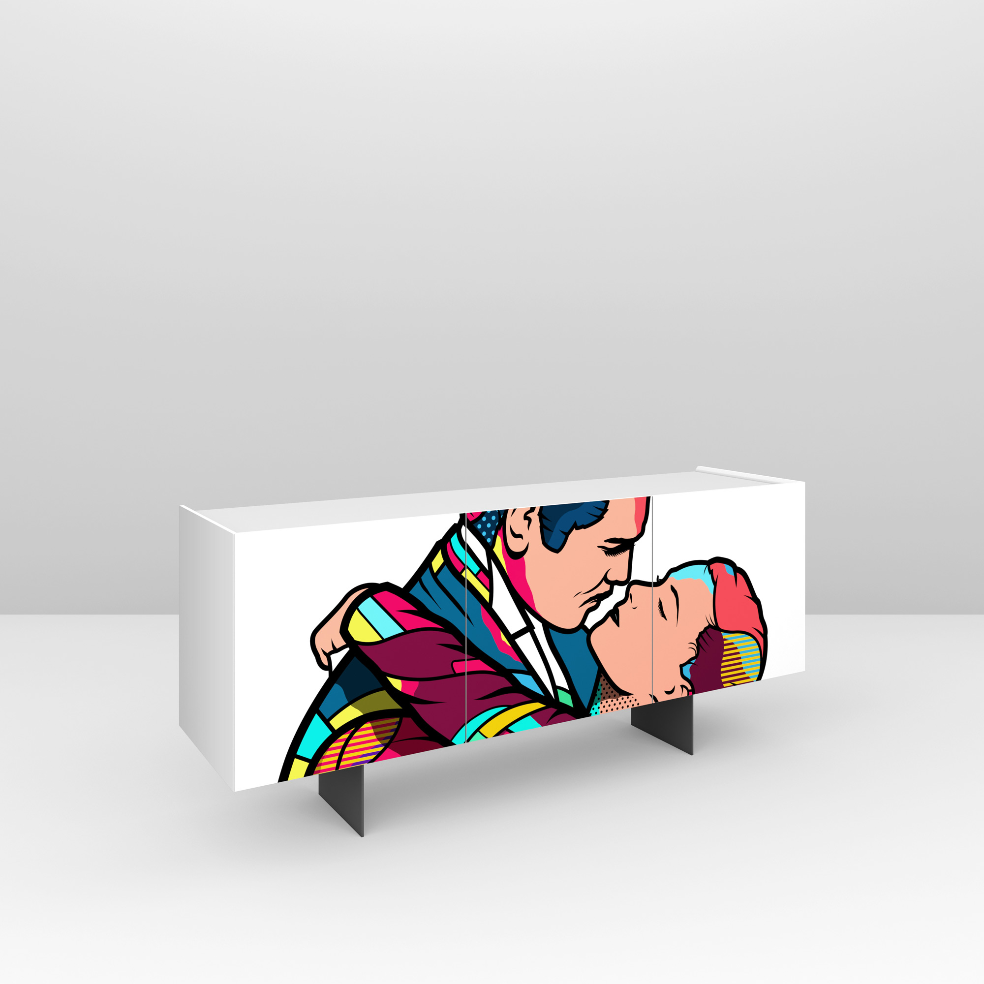 Pictoom Furniture Art Marogna Graphic Illustrator Furnishings Van Orton